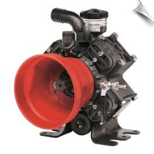 AR 1064 Diaphragm Pump, 1 3/8 6 Spline Input - 1 3/8 6 Spline Thru Shaft
